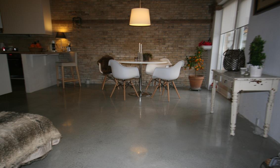 Nytænkning med gulve i beton