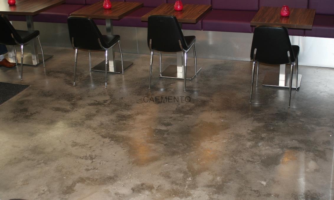 Lounge betongulv